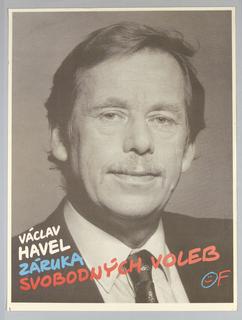 "Poster, ""Vaclav Havel Zaruka Svob"