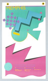Poster, Memphis/Milano, 1985