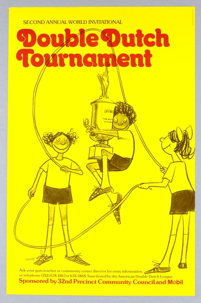 Poster, Double Dutch Tournament