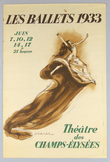 Poster, Les Balles 1933 (Tilly Loche Poster), 1933