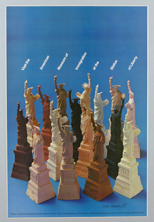 Poster, Visit the American Museum of Immigration at the Statue of Liberty