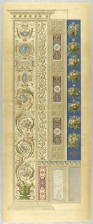 """Print, Wall Decoration, Plate from """"Loggie di Rafaele nel Vaticano"""" (Raphael's Loggia in the Vatican)"""