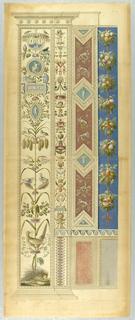 Print, Wall Decoration, Plate XI from Le loggie di Rafaele nel Vaticano (Raphael's Loggia in the Vatican)