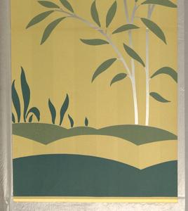 Scenic - Panel, Silver Fawn, 1930–40