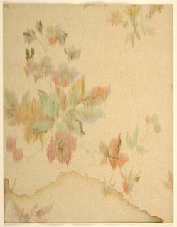 Page From Sample Book, New Charm, New Lasting Beauty in Papered Walls
