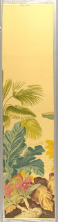 Scenic - Panel, Floral Islands, 1930–40