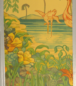 Scenic - Panel, Flamingo, 1939