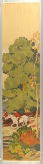 Scenic - Panel, Virginia Hunt, 1930–40