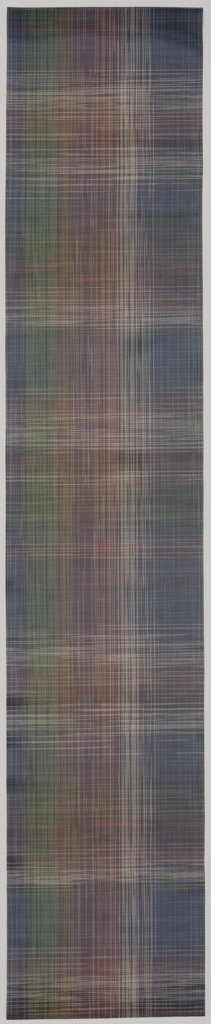 Runner, Plaid Multi, design: December 2015; manufacture: January 2015