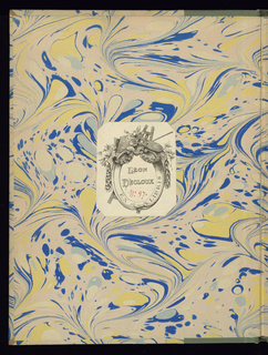 Bound volume of 6 ornamental grosteque etchings.