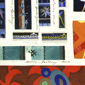 Drawing, Textile Design: Zwilling