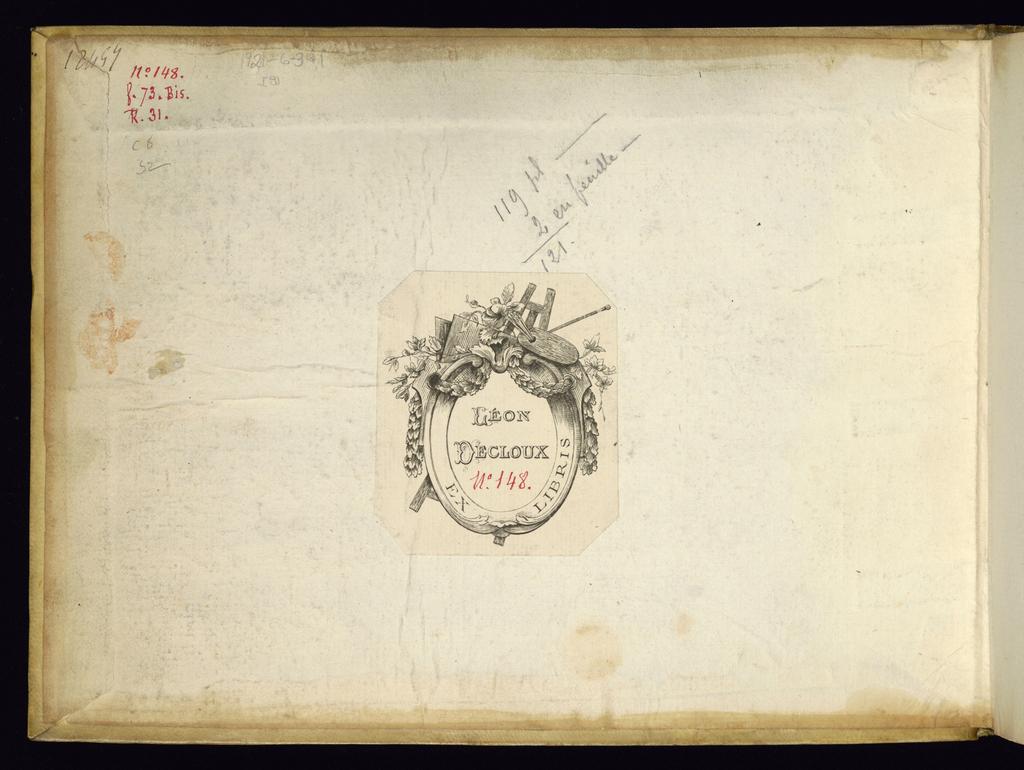 Album, Album of Interior Decoration and Ornament