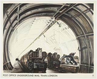 Poster, Post Office Underground Mail Train: London