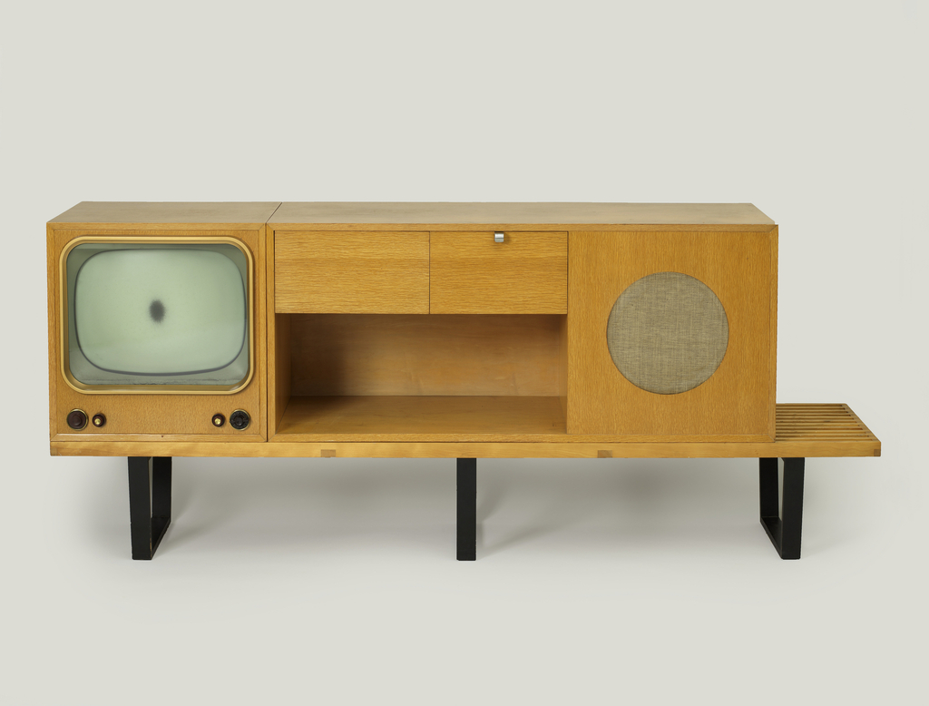 4743 Stereo Cabinet, Designed 1946, Manufactured Ca. 1955