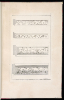 Four moulding designs