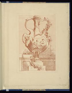 Bound Print, Plate 8, Livre de vases (Book of Vases)