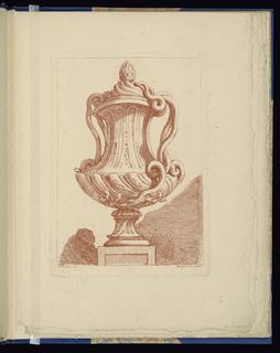 Bound Print, Plate 5, Livre de vases (Book of Vases)