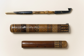 Opium Pipe And Case (Japan)