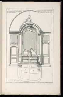 Print, Album of Ecclesiastical Cabinetry