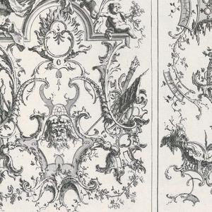 Bound Print, Two Upright Panels, Livre de Paneaux à divers usages (Book of Panels for Various Uses)