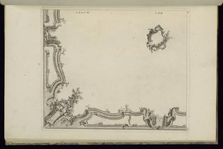 Print, Design for a Quarter of a Ceiling, 1745