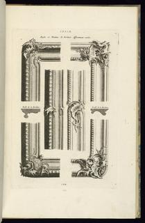 Print, Angles et Montans de Bordures Differemment Variés, 1745