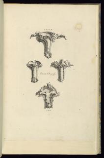 Print, Desseins D'Agraffes, 1745