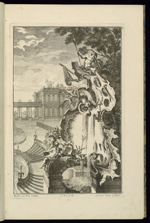 Print, Design for Fountain with an Anchor, 1745