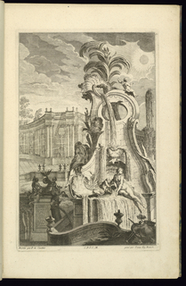 Print, Design for Fountain with Venus, 1745