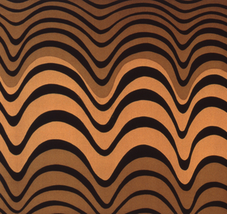 Brilliant colors with swirling designs in light and dark brown and black.