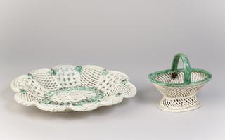 Basket And Tray (England)