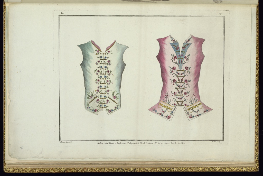 Book, Design for Two Waistcoats