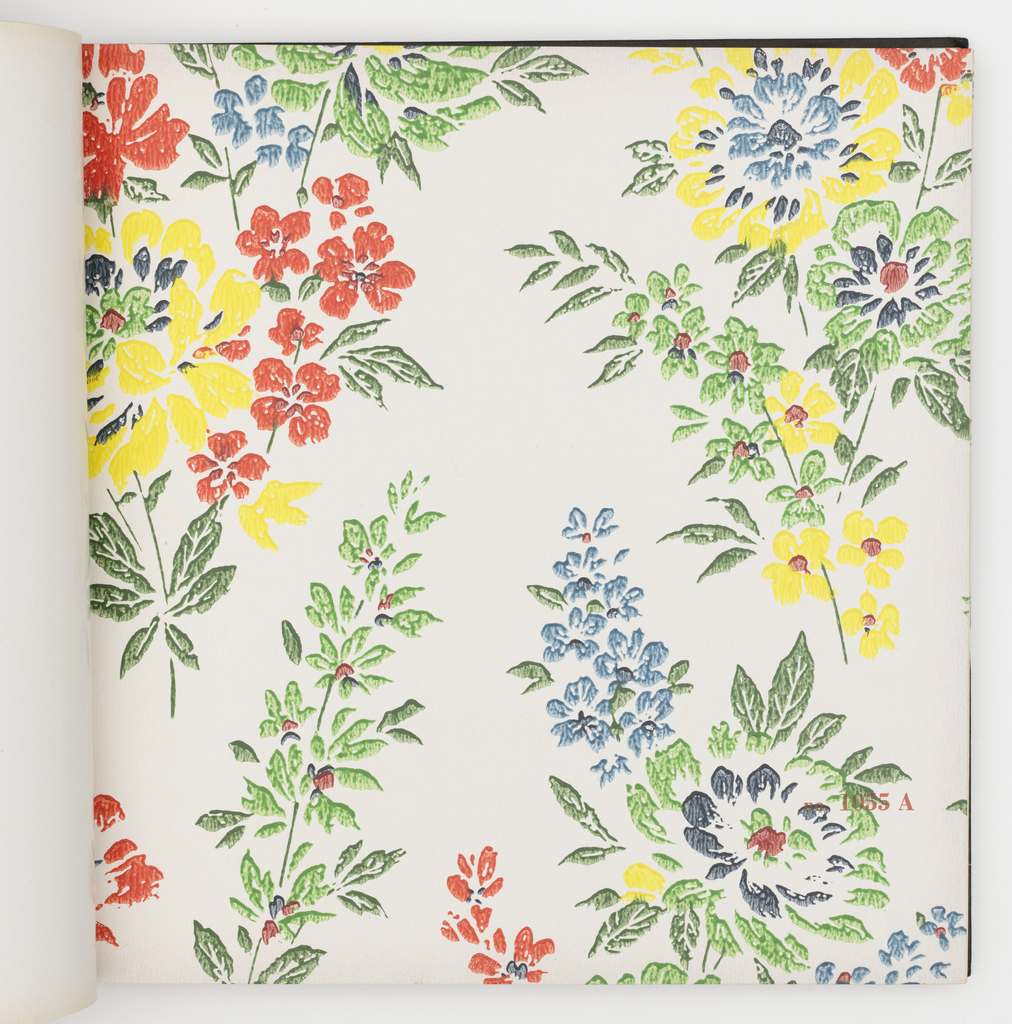 Collection of florals, stripes and all-over abstract designs. Each design appears in multiple colorways.