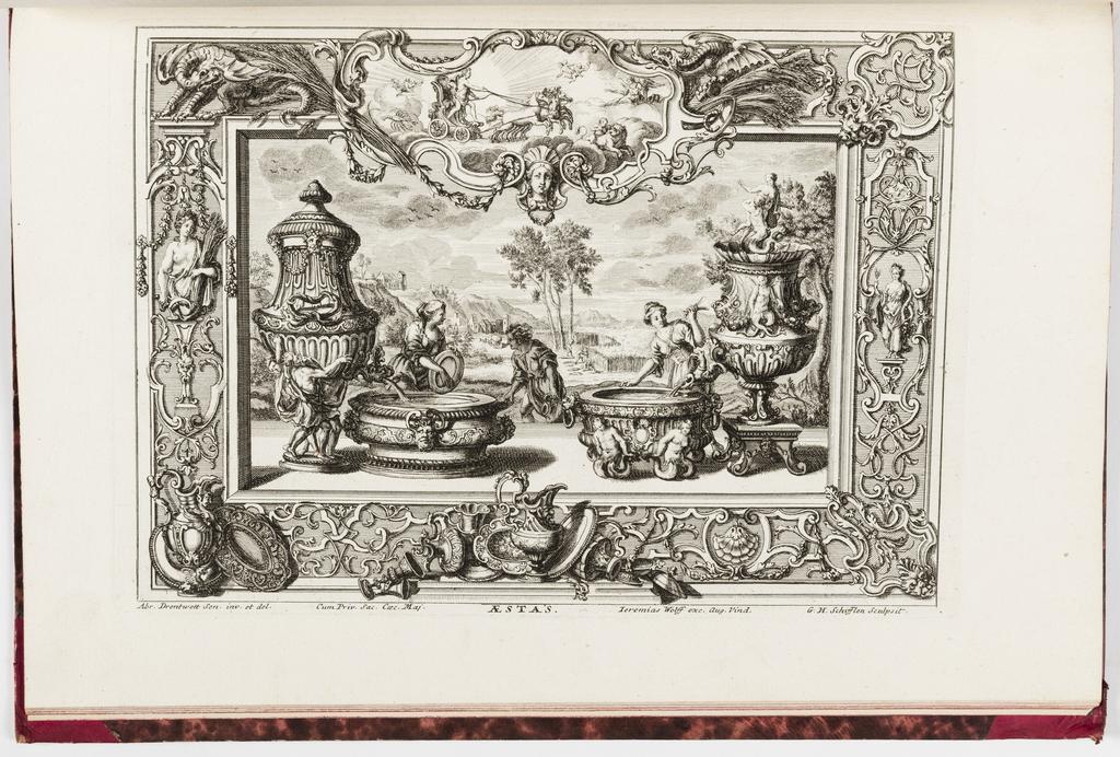 Print, Neüe inventiones von unterschiedlich nützlicher Silber-arbeit... ; Aestas