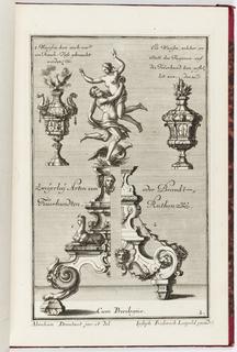 Print, Neüe inventiones von unterschiedlich nützlicher Silber-arbeit... ; pl. 2