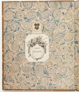 Album, Suite of 7 Ornamental Designs with the Judgement of Paris