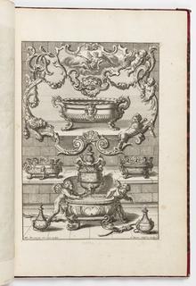 Print, Neüe inventiones von unterschiedlich nützlicher Silber-arbeit... ; Aestas, ca. 1725