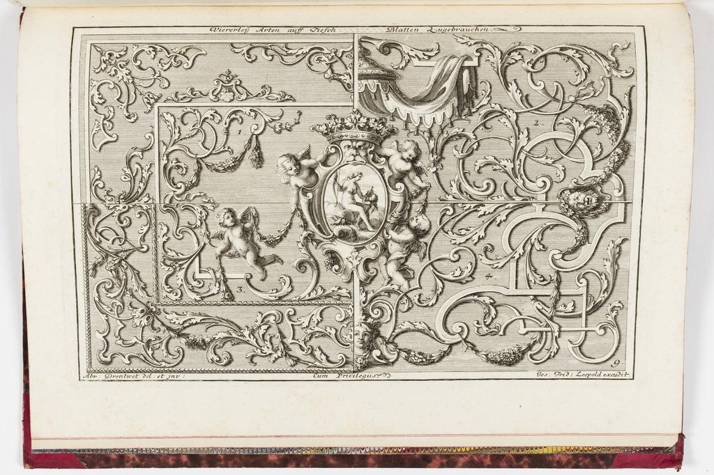 Print, Neüe inventiones von unterschiedlich nützlicher Silber-arbeit... ; pl. 9