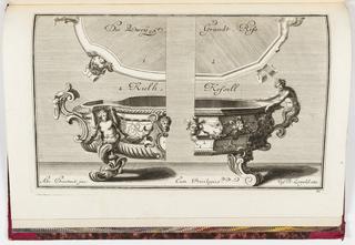 Print, Neüe inventiones von unterschiedlich nützlicher Silber-arbeit... ; pl. 11, ca. 1725