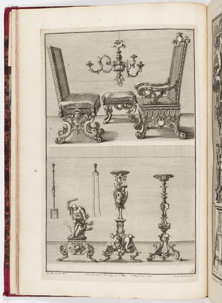 Print, Neüe inventiones von unterschiedlich nützlicher Silber-arbeit... ; pl. 6