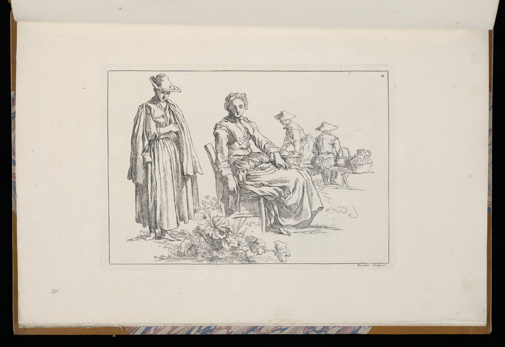 1 Suite, title page & 2-12. Sketches of peasants, mostly youths.