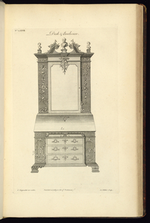 Print, The Gentleman's and Cabinet-Maker's Director, 1755