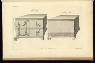 Print, The Gentleman's and Cabinet-Maker's Director