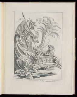 Print (France), ca. 1736