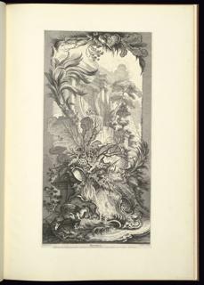Print, Rocaille (Rock Garden), from Nouveaux morceaux pour des paravants (New Designs for Screens)