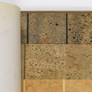 Sample Book, Hand-Crafted Spanish Cork Wallcoverings, ca. 1978