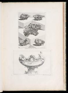 Print, Differents Desseins de Sallieres [Various Designs for Salt Dishes], pl. 63 in Oeuvre de Juste-Aurele Meissonnier