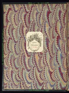 Album, Second recueil et troisième livre de cartouches (Second Album and Third Book of Cartouches)