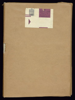"Large book of samples of silk ribbons. Bound in gray cloth. Samples are secured to the pages using white round stickers. Stickers marked with a ""D"" are domestic manufacture."