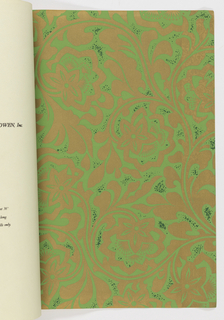 Screen printed wallpapers and vinyl wall covering, including murals, architectural elements, paper-backed textured and printed fabrics, borders, paper-backed reed bamboo cloth, composition textured wallcoverings, grass cloth.